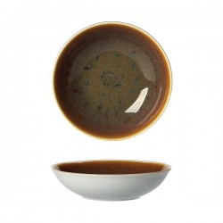 Talerz Coupe 225 mm, ROYAL CROWN DERBY, Caramel, 8501BC813